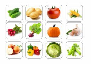"""Логопедична гра """"Назви одним словом овочі"""" - логопед Дарья Левченко   SMARTY"""